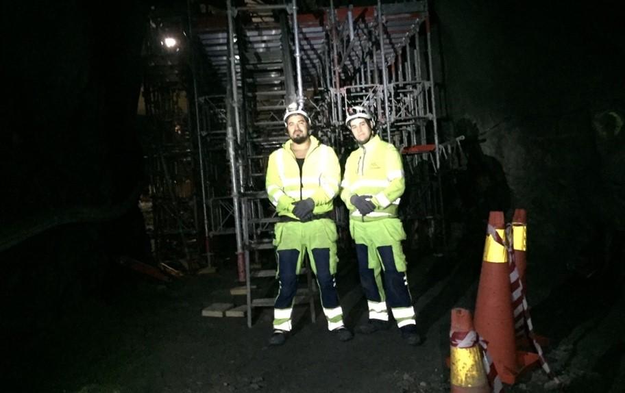Byggställning Förbifart Stockholm
