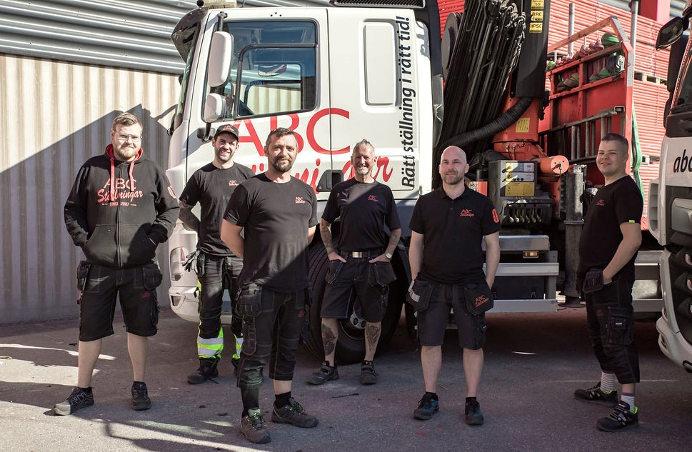 ABC Ställningar Stockholm - logistikteam