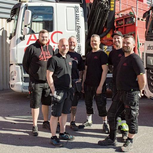 ABC Ställningar Stockholms logistikteam